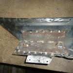 Фото 19 - ремонтная вставка моторного щита с усилителем