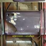 Ремонт и окраска дверей Ваз - 2107, часть 1