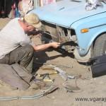 33. Расчистка телевизора от грязи и ржавчины