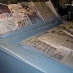 Фото 18 Маскирование лобового стекла и подкапотного пространства