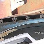 Фото 7  Подготовка к сварке металла со стороны желобка
