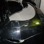 IMG_11 Повреждённый участок бампера