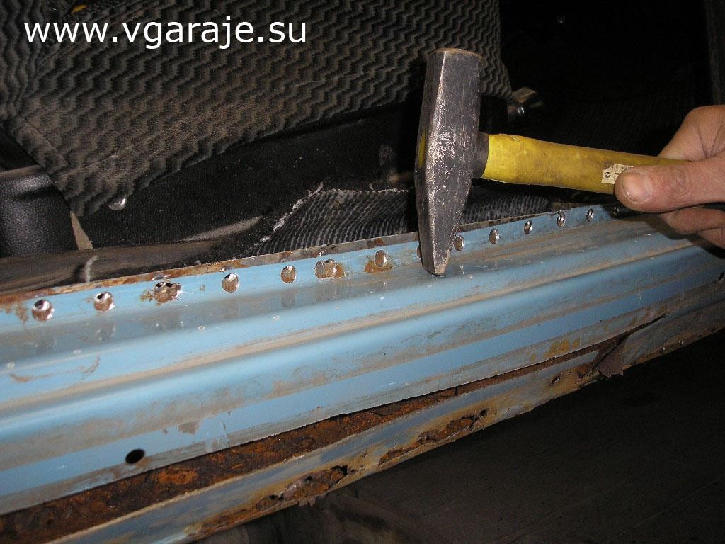 Фото №23 - ВАЗ 2110 обработка порогов