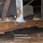 Фото 9 Гнилой порог и усилитель удалены полностью
