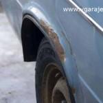 Коррозия на арке заднего колеса