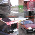 Окончание ремонта Ваз - 2109