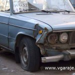 Повреждения переднего крыла Ваз - 2106
