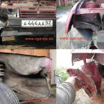 Последствия странного ДТП и начало ремонта