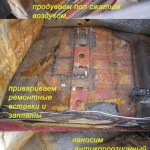 Ремонт услилителя пола Ваз - 2109, ч.3